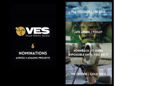 6 VES Nominations